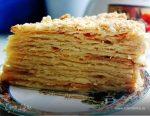 Медовый наполеон с заварным кремом – Бакинский медовый Наполеон — 5 пошаговых фото в рецепте